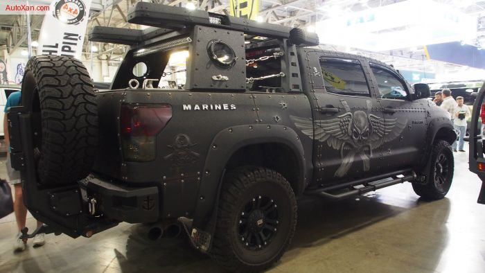 Toyota Tundra Crewmax Cab Pirat Marines Devolro Offroad