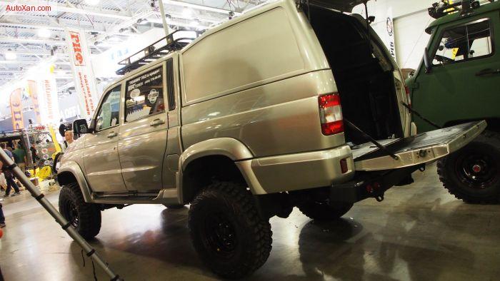 uaz patriot pickup 4x4 offroad tuning exterior