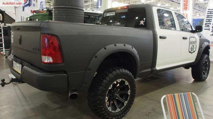 "2010 Dodge Ram 2500 Laramie Sheriff Offroad Tuning, Lift 4.5"", Toyo Open Country MT 35-12.5R20"