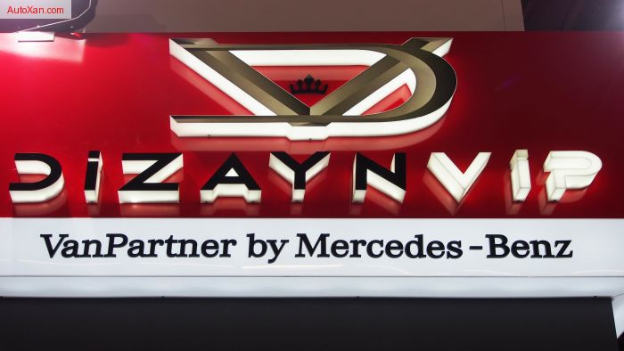 DIZAYNVIP VanPartner by Mercedes-Benz V-class - VIP Edition Business Luxury Van