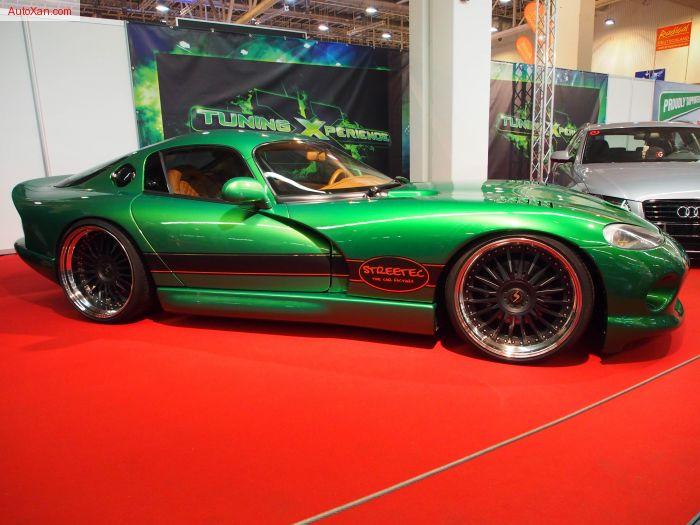 Dodge Viper GTS 1999 8.0L V10 Motor 560 ps 11j x R21 Biomorphic Green Streetec Tuning