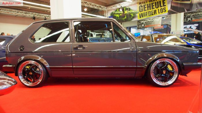 Volkswagen Golf 1 1982 16V Turbo GT30 Turboloader 500ps R17 Tuning