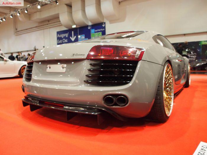 Audi R8 2007 Tuning by JP Performance 4.2L V8  Chip 420+ PS, Bilstein Clubsport Gewindefahrwerk, 3-teilige MESSER ME11-3 9j 12j x R20 -  Exterior Walkaround