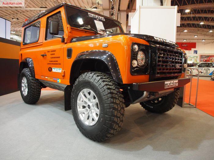 Land Rover Defender 90 Tuning by Matzker KFZ Technik
