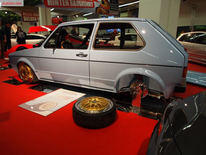 Volkswagen Golf 1 (Typ 17) 1978 Tuning Oettinger 1.8 L 16S 136 PS BBS Rennsport Typ E26 R17 Floridablau Clean-look