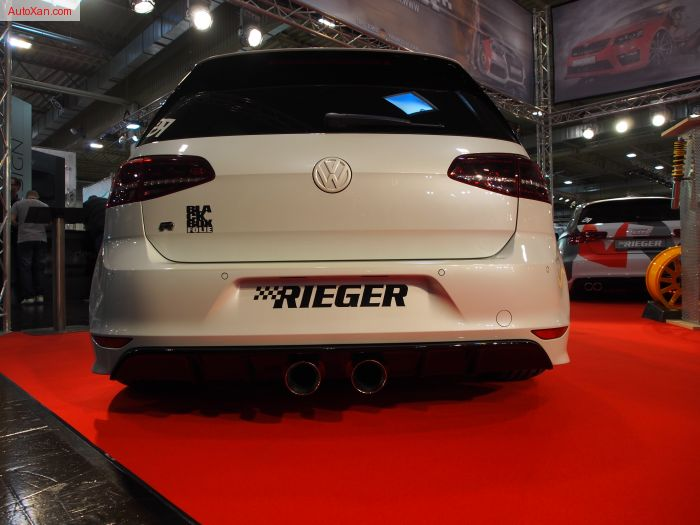 Volkswagen Golf 7R Tuning by RIEGER 272kW 370PS 480Nm