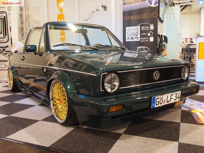 Volkswagen Golf 1 Cabrio Göttinger Tuning by werk34