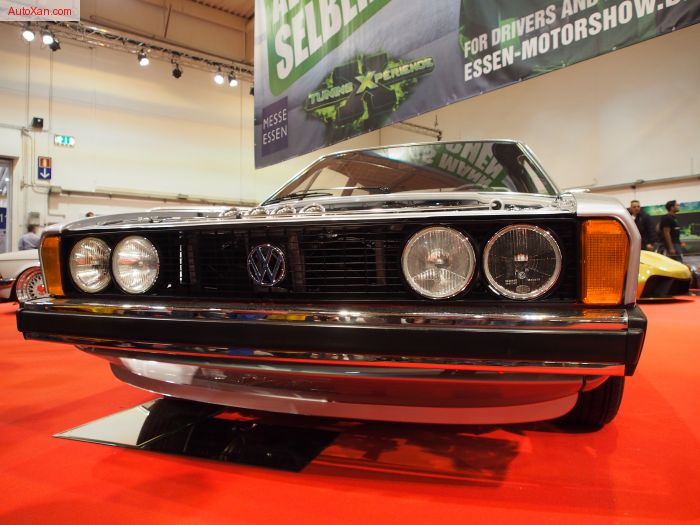 Volkswagen Scirocco 1 1977 2.0L 16V 220 PS, H&R Ultra-Low Fahrwerk, 3-teilige Ronal-Racing Felgen 7j x R17, Porsche-Silber