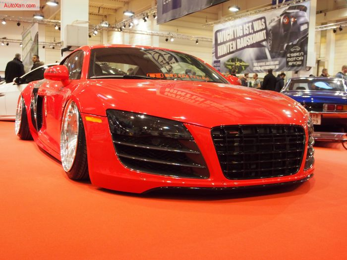 Audi R8 2009 Tuning by BSCarStyling Brilliantrot 4.2L V8 FSI 420 PS