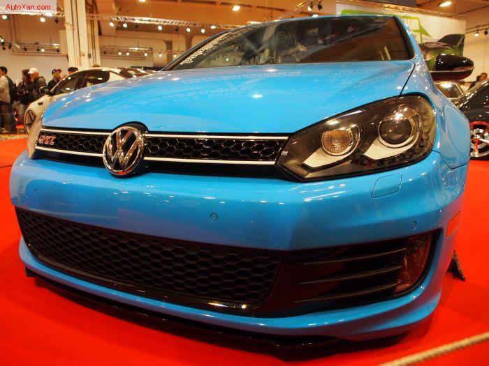 Volkswagen Golf 6 GTI 2009 CCZB 310 PS CDC Tuning HP-Drivetech Airridefahrwerk, Original Porsche Cayenne GTS Felgen 9jxR20