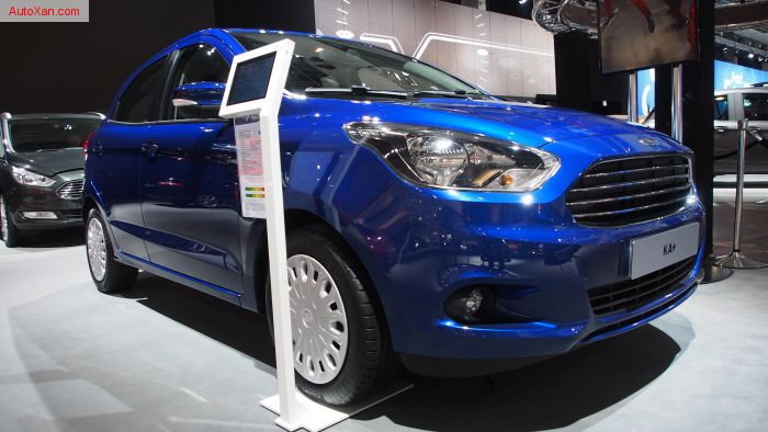 Ford Ka+ 1.2 70cv Sigma Essential Deep Impact Blue