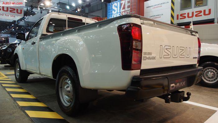 Isuzu D-Max Single Cabine 2.5 LAC 4WD Attache remorque 3500kg