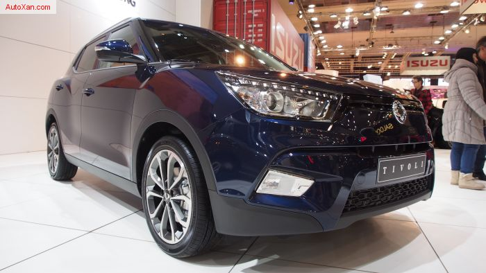 SsangYong Tivoli e-XDi160 Diesel AT Quartz Style Pack