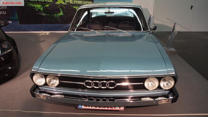 Audi 100GL 1975 Tuning, Custom Airride-Fahrwerk, BBS RS R16