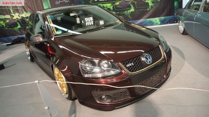 Volkswagen Golf V GTI Tuning  -  brown bodykit breitbau DUB zero FIVE deep & low