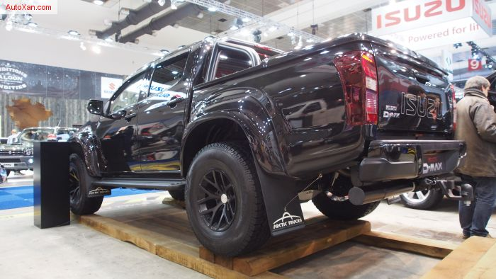 Isuzu D-Max Double Cabine AT35 Offroad Tuning