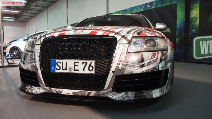 Audi RS6 V10 4F 2010 Tuning 5.0 BiTurbo 780ps 950Hm, HP-Drivetech Luftwerk, Vossen Precision 309 R21