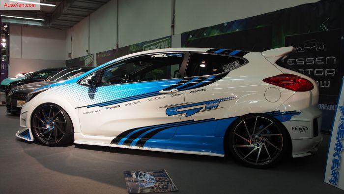 KIA Pro_Cee'd GT-Turbo 2013 Tuning 1.6 204ps, ST-X, Tomason R19