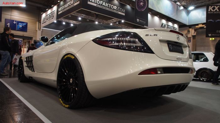 Mercedes-Benz SLR McLaren on mbDESIGN ETA BETA Alloy Wheel VENTi-R