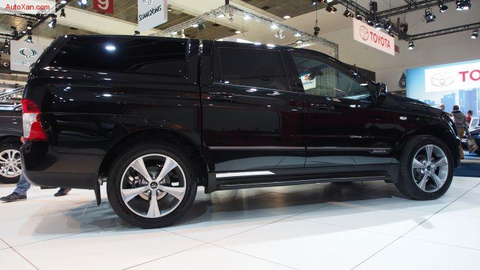 SsangYong Actyon Sports e-XDi220 Diesel AT 4WD Quartz