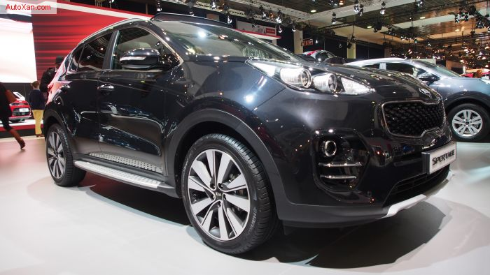 Kia Sportage Style Pack 1.7 CRDi 7-DCT ISG 2WD
