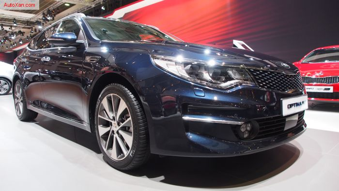 Kia Optima SW First Edition 1.7 CRDi 7-DCT ISG AT