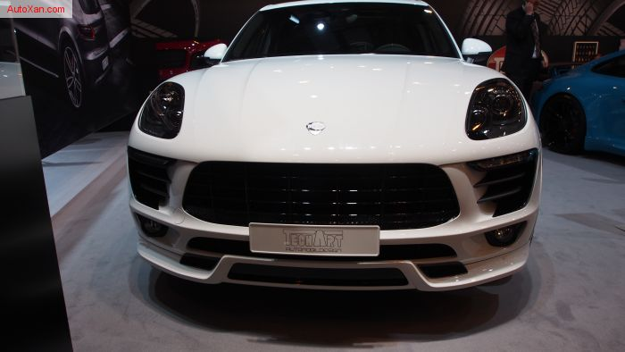 Porsche Macan Turbo Powerkit and Body Kit by TechArt