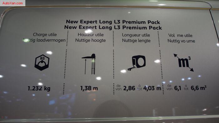 Peugeot Expert Long L3 Premium Pack  2.0