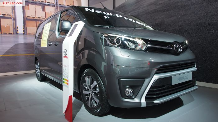 Toyota Proace Medium Diesel 2.0d 120 Platform Cab