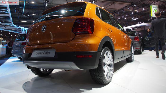 Volkswagen Cross Polo 1.2 TSi BlueMotion Technology 90ch DSG7 Honey Orange
