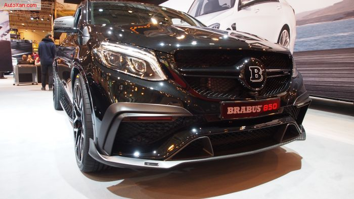 Brabus 850 based on Mercedes-AMG GLE 63S 4Matic Coupé C292