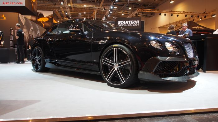 Bentley Continental GT Speed 6.0 W12 TUNED BY STARTECH