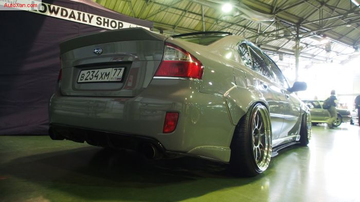 Subaru Legacy Tuning by Monsterservice