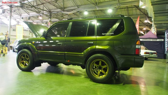 Toyota Land Cruiser Prado 90 Tuning 2jz-GTE VVT-i 280ph