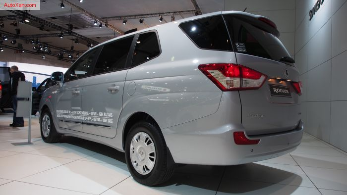 SsangYong Rodius Crystal Plus 2.2D 6MT 2WD