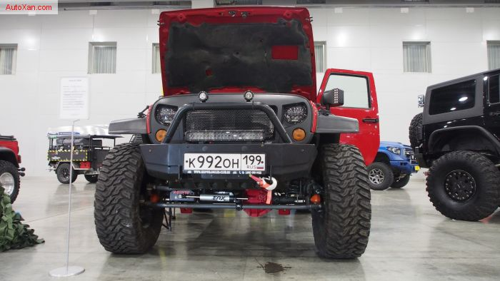 Jeep JK 2008 (Wrangler Rubicon) Offroad Tuning