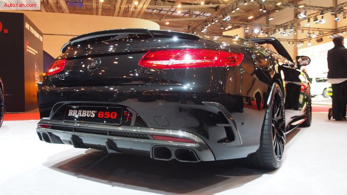 Brabus 850 6.0 Biturbo Mercedes-AMG S63-Based Convertible