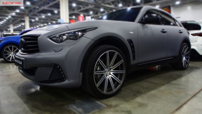 Infiniti FX Tuning by style.cc, LarteDesign bodykit, vossen, #infiniticlub