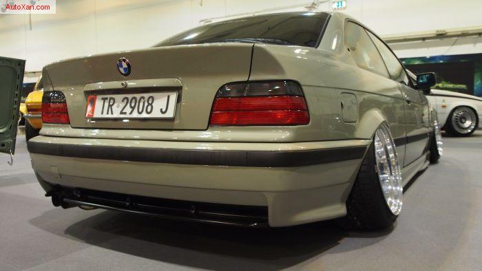 BMW 323 E36 tuning (1998), 2.5L 210ps, Caline CM6 R17