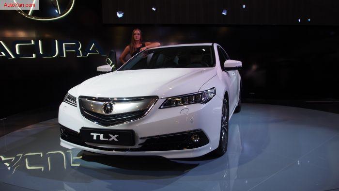 2015 Acura TLX 3.5 V6 290 hp 8-Speed DCT P-AWS