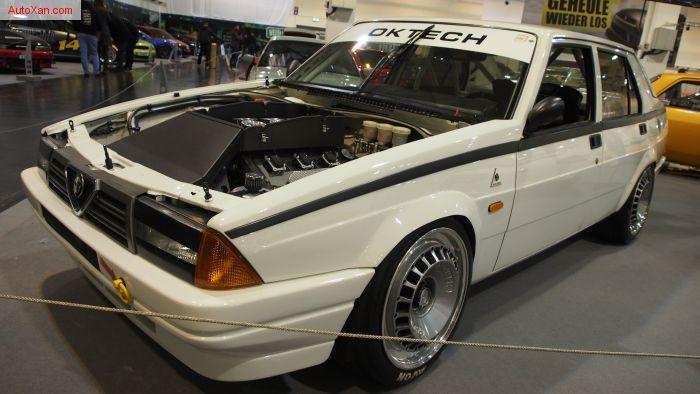 Alfa Romeo 75 tuning by OKTech Racing (1986), V6 24V 3.8 436ps