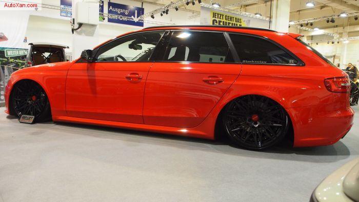 Audi RS4 B8 Tuning by AH-Exclusive-Parts (2012), 4.2L 450ps, Rotiform QLB R20