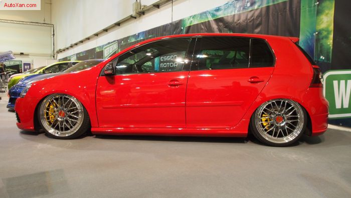 Volkswagen Golf 5 Tuning (2006), R36 300ps, BBS Le-Mans R20