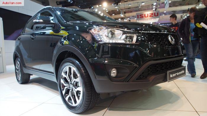2017 SsangYong Korando e-XDi220 Diesel MT 2WD Sapphire
