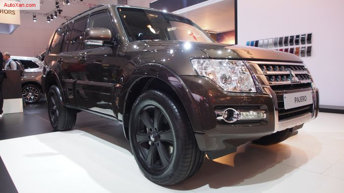 2017 Mitsubishi Pajero 5P Unlimited Edition 3.2 Diesel 190ch 5AT 4WD