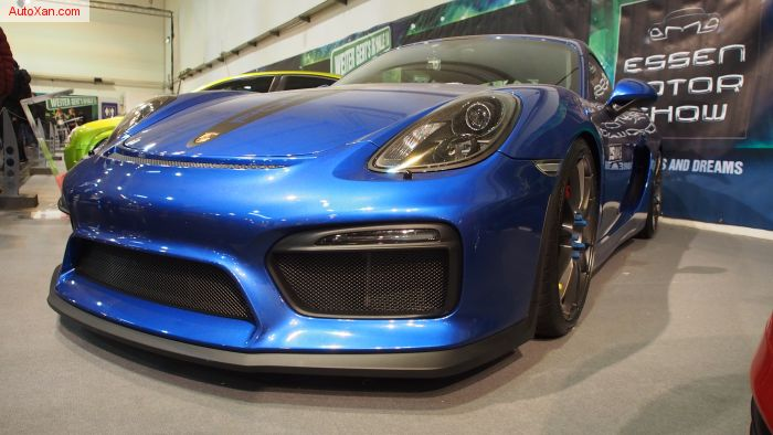 Porsche Cayman GT4 Typ 981 Tuning (2015), 3.8 415ps, OZ Supperleggera HLT R20