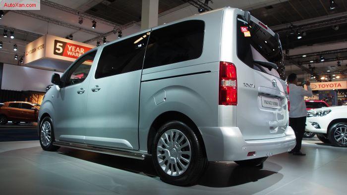 2017 Toyota ProAce Verso Medium 1.6 D-4D MPV