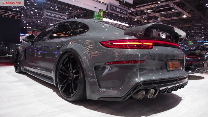 TechArt Grand GT based on Porsche Panamera Turbo S