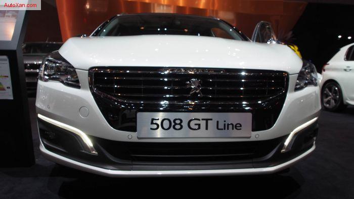 2017 Peugeot 508 SW GT Line