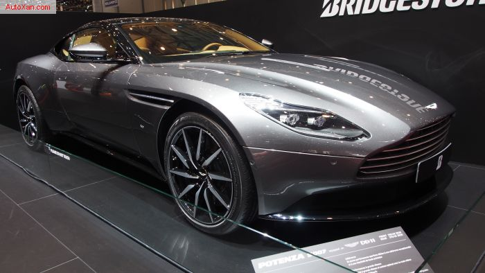 Aston Martin DB11 5.2L twin-turbocharged V12